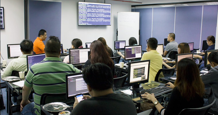 Huge class of Java with MongoDB Training. | Java Mongo DB Training Philippines